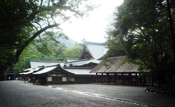 伊勢神宮の建築-1