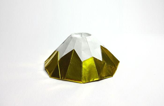 富士山 折り紙 mount fuji origami