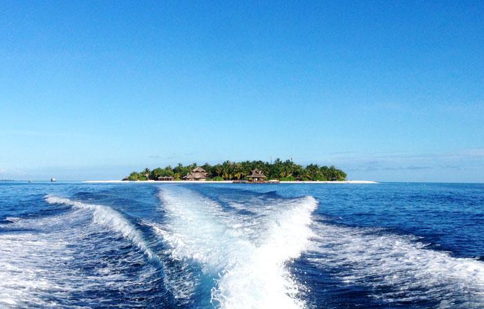 沈みゆく島